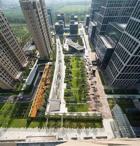 Landscape Architecture Technology Beiqijia Technology Business District Martha Schwartz