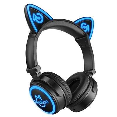 light up cat ear headphones mindkoo cat ear headphones review meow review hub