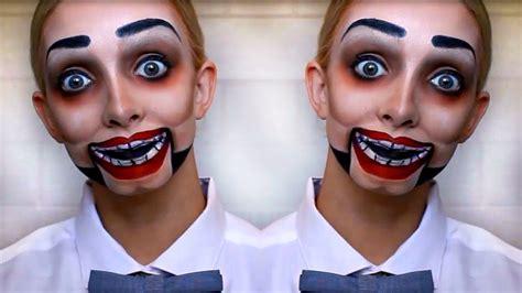 tutorial makeup vire man creepy dummy halloween makeup tutorial youtube