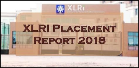 Xlri Distance Mba Placements by Xlri Placement 2018 Average Salary Rises To Rs 20 1 Lakhs