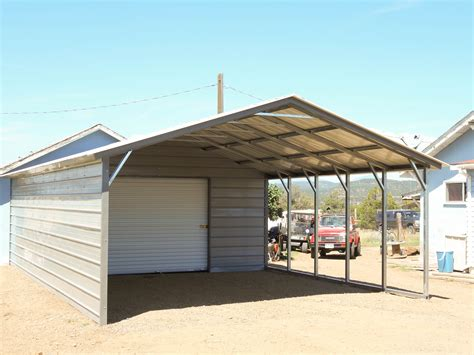 American Carports Utility Carports Colorado Steel Buildings Metal Garage