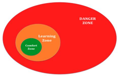 danger in the comfort zone innovation inventions dreams how to differentiate