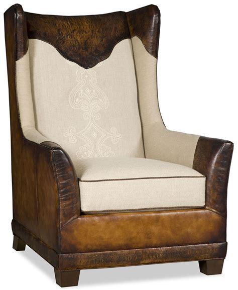 Club Armchair Leather by Club Armchair With Gator Embossed Leather 64659