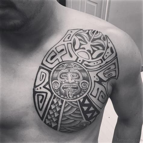 tattoo tribal aztec 50 traditional aztec tattoos for chest