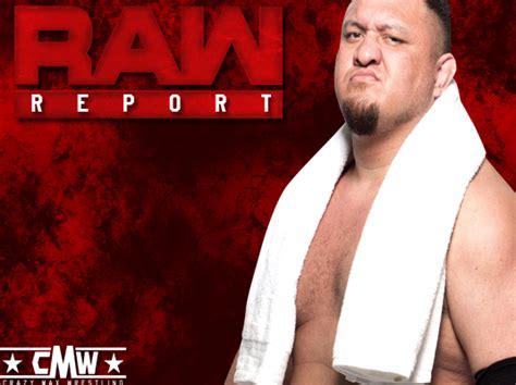 wwe raw report march   crazymaxorg