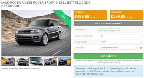 lease deals on range rover sport in review ranger rover sport hse