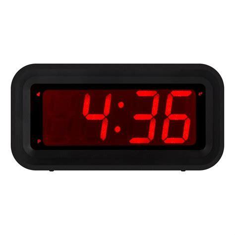 kwanwa led digital alarm clock battery powered  small