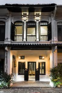 house   elegantly restored colonial shophouse  surprisingly modern interiors