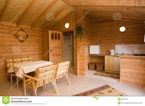 Log Cabin Kitchen Ideas Log Cabin Interior Stock Photography Image 2505412