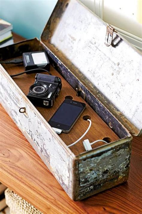 diy wood charging station 15 cool and clever diy charging stations house design