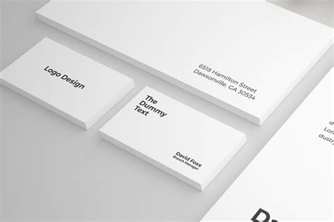business card a4 template psd free stationary mockup psd template freebies graphic