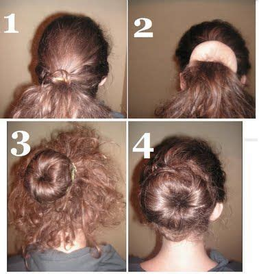 hairstyles using a bun donut how to use one of those doughnut bun shaper thingys