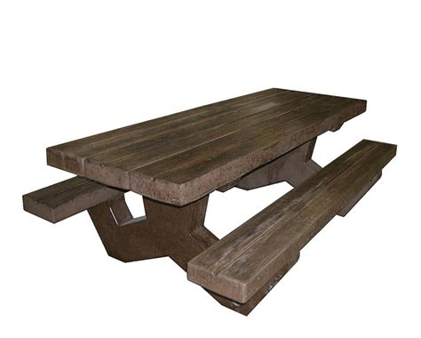 concrete picnic table and benches concrete picnic table and benches that look like wood