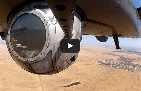 B-24 Ball Turret In Action - I Love WW2 Warbirds.com B 24 Ball Turret