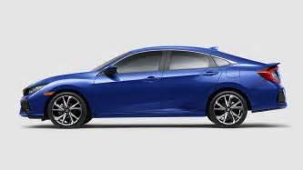 90 Honda Civic Si 2018 Honda Civic Si Sedan Coupe Coming With A 205hp 1 5l