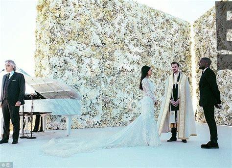 flower wall kim kardashian wedding it s a nice day for a white wedding by bride blossom