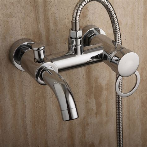 Bathroom Shower Valve Bathroom Mixer Bath Tub Copper Mixing Valve Wall Mounted Shower Faucet Concealed Faucet