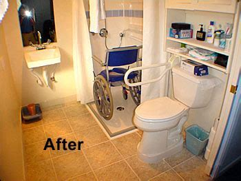 Redesign a Tiny Bathroom to make it a Handicap Wheelchair