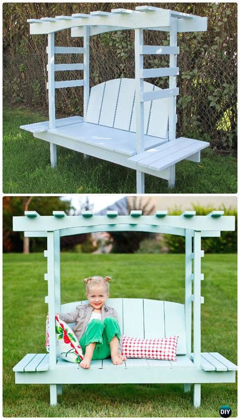 kids garden bench diy outdoor garden bench ideas free plans instructions