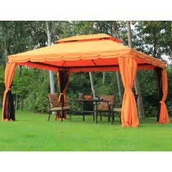 garten pavillon alu outsunny luxus pavillon gartenpavillon festzelt alu 3x4 m