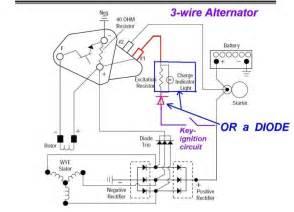 ac delco alternator wiring diagram gm alternator wiring