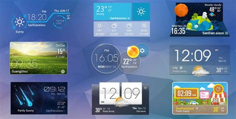 widgets on android daily live weather widget εїз android apps on play