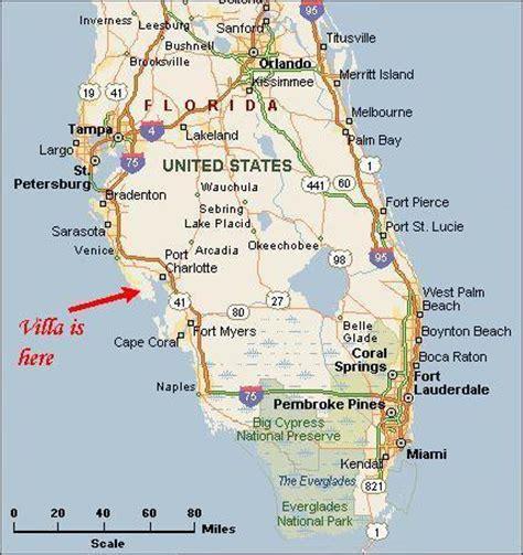 map of western florida coast west coast florida map