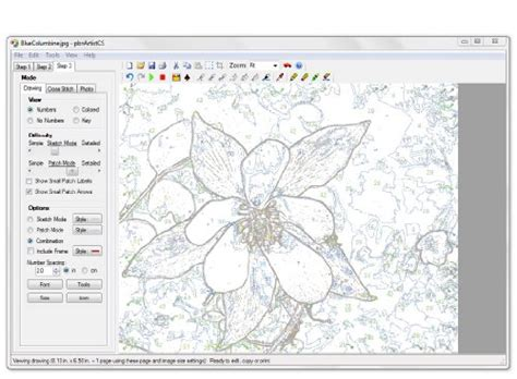 number pattern analysis software pbnartist tm advanced for windows paint by numbers and