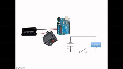 arduino autonomous vehicle battery connections and power