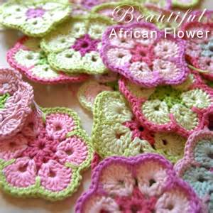 Crochet African Flower - african flower crochet pattern free long hairstyles