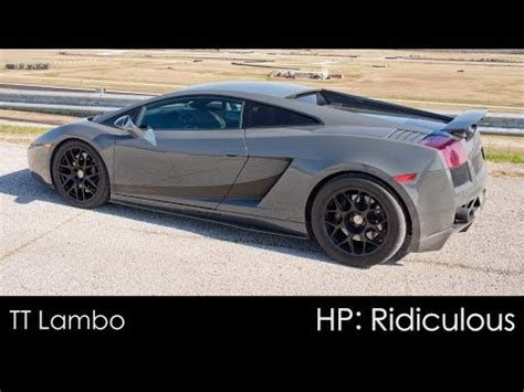 How Much Horsepower Does A Lamborghini Gallardo Why You Don T Race Against A 1700hp Turbo Lamborghini