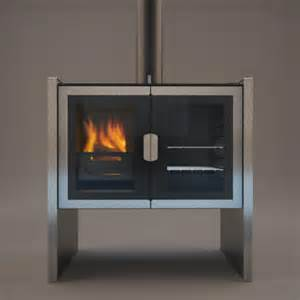 Modern Wood Burning Stove Razen New Contemporary Wood Burning Cookstove