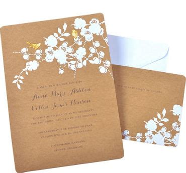 wedding invitation craft kit printable wedding invitations invitation kits city