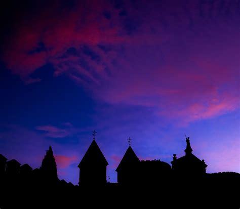 stock photo  dark dawn dusk
