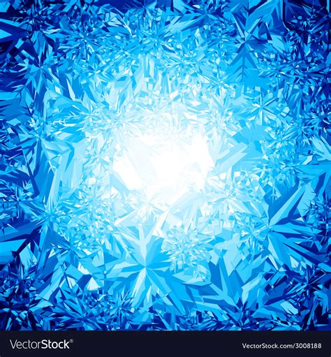Cool Stock ice background royalty free vector image vectorstock
