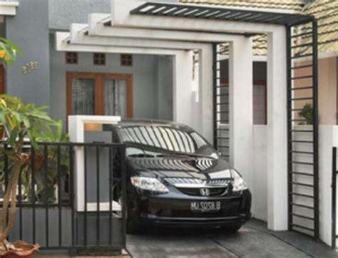 desain carport minimalis untuk 2 mobil renovasi carport mobil minimalis sketsa denah desain