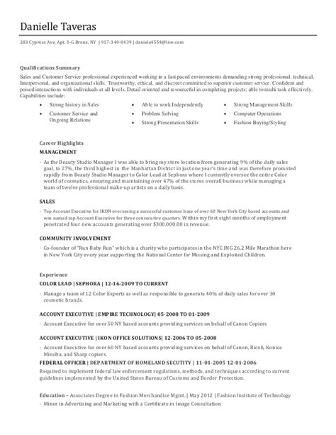 Sephora Resume by Sephora Resume Resume Ideas