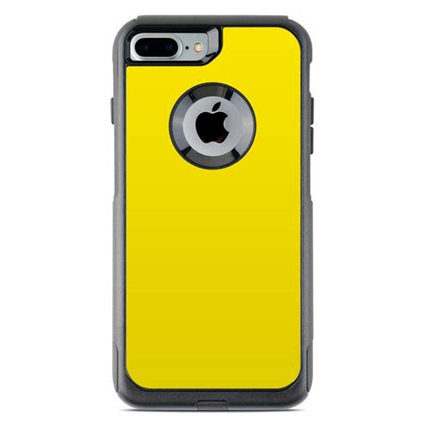 otterbox commuter iphone 7 plus skin solid state yellow by solid colors decalgirl