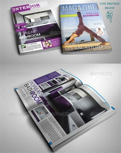 22 sport magazine cover and layout templates dzineflip