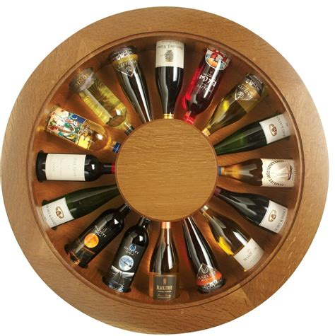 Unique Wall Clock by Fsc Wooden Wine Rack Will Hold Your Vintages Elegantly