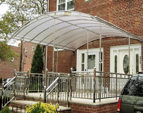 stainless steel awnings awning css stainless steel work inc