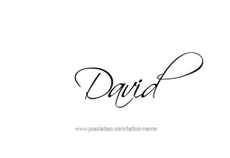 david name tattoo designs david prophet name designs tattoos with names