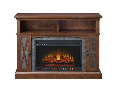 Menards Electric Fireplace Whalen Sheldon 48 Quot Medium Cherry Electric Fireplace At Menards 174