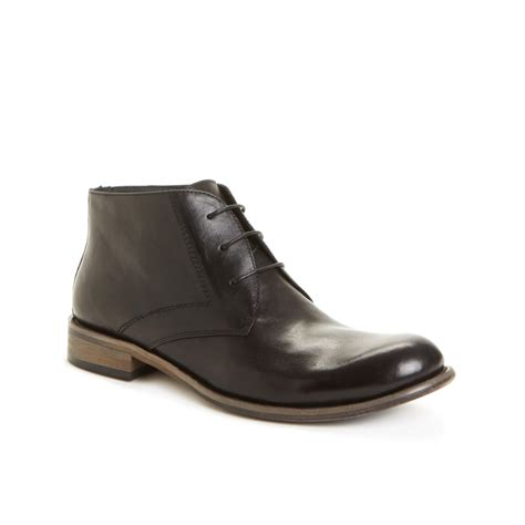 steve madden mens chukka boots steve madden bristole chukka boots in black for lyst