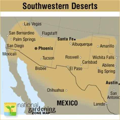 texas desert map region description southwest deserts garden org