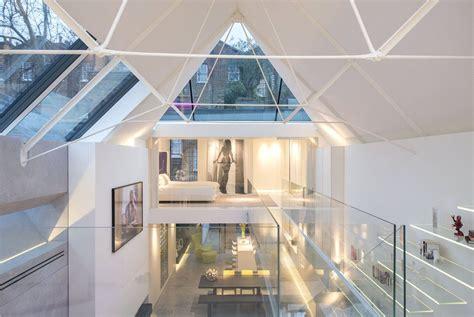 modern artists studio terrace house  chelsea idesignarch interior design architecture