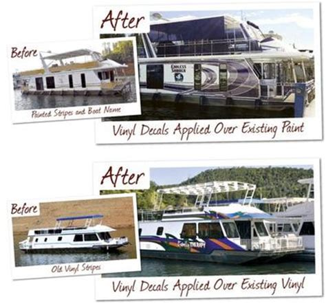 us customs sticker for boat houseboat graphics custom boat wraps decals striping