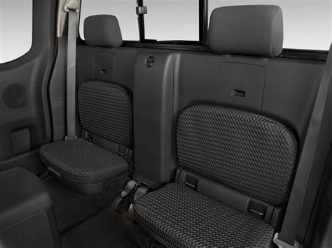 image  nissan frontier wd king cab  auto sv rear seats size    type gif