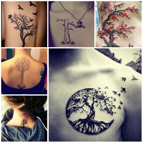 unique tree tattoo designs unique tree tattoos for pictures to pin on