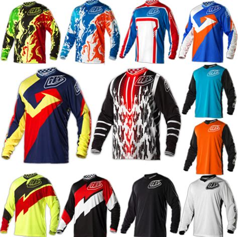 how long is a motocross race troy lee designs long sleeve cycling jersey motocross tld